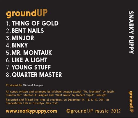 snarky puppy ground up snarky puppy ground up cd dvd musicland chile