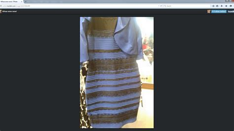 is this dress blue and black or white and gold