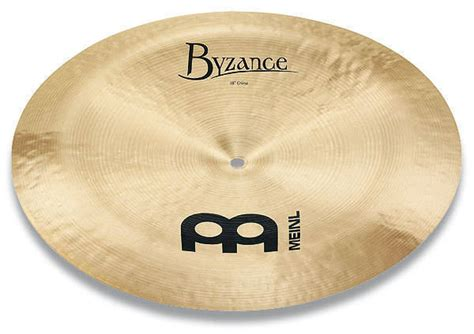 Meinl Cymbal Byzance Traditional China 20 meinl byzance traditional china 20 inch mcquade musical instruments