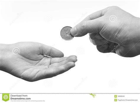 what to give a for it is more blessed to give than to receive stock image image 18089545
