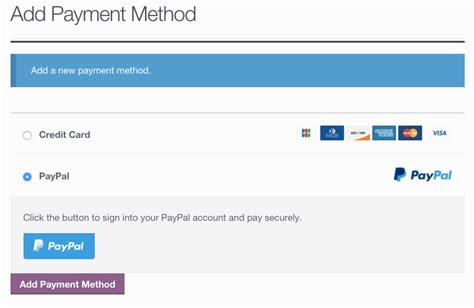 Credit Card Form Braintree Paypal Powered By Braintree Woocommerce Docs