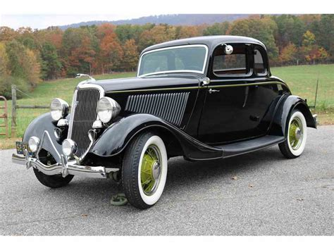 34 Ford Coupe by 1934 Ford 5 Window Coupe For Sale Classiccars Cc