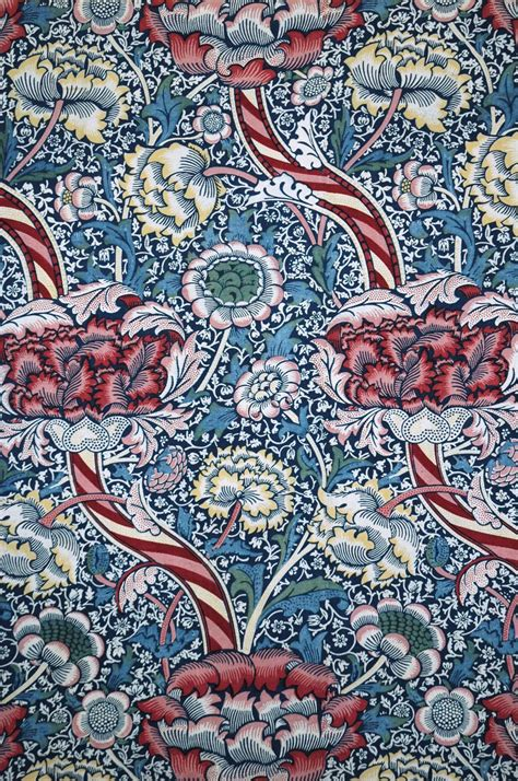 wandle textil textile design of the late 19th century at the mak