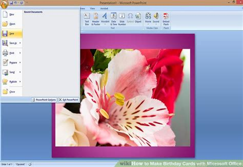 how to make a birthday card on microsoft word 2007 how to make birthday cards with microsoft office with