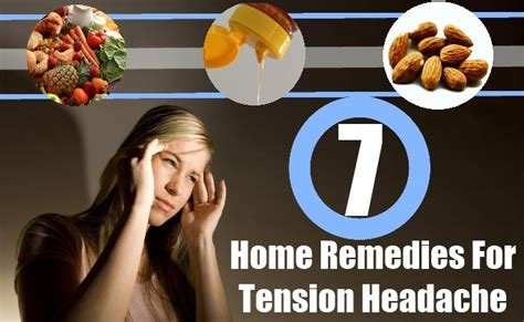 7 powerful home remedies for tension headache
