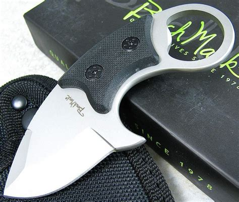 small skinning knife benchmark small black g10 handle fixed blade