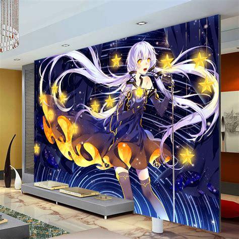 Anime Decor by Aliexpress Buy Japanese Anime Wallpaper Custom 3d