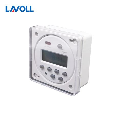 Programable Digital Timer With Waterproof Cover programmable timer switch temporizador interruptor programmable relay digital weekly timer with