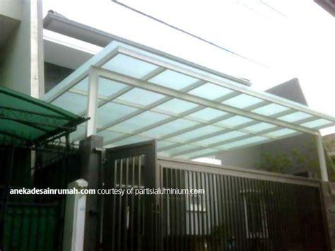 desain kanopi rumah minimalis modern simomot