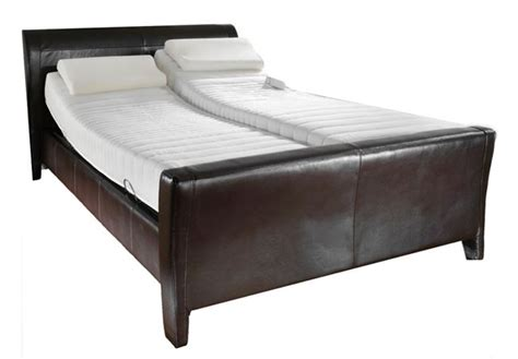 electric adjustable bed with memory foam or pocket sprung mattress ebay
