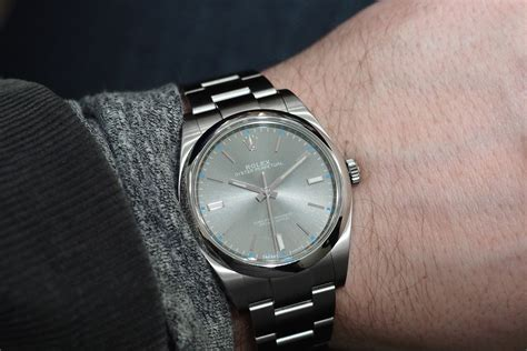 Professional Watches ? Wristwatch News and Reviews: The Dark Rhodium Rolex Oyster Perpetual
