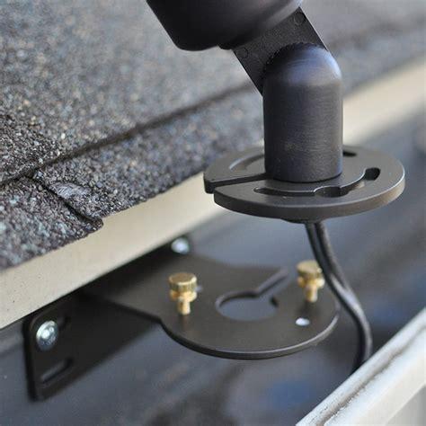 gutter for lights gm100 gutter mount for landscape lights raleigh by