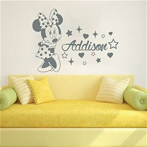 baby mickey mouse wall stickers wall decals custom name baby minnie mouse from wall