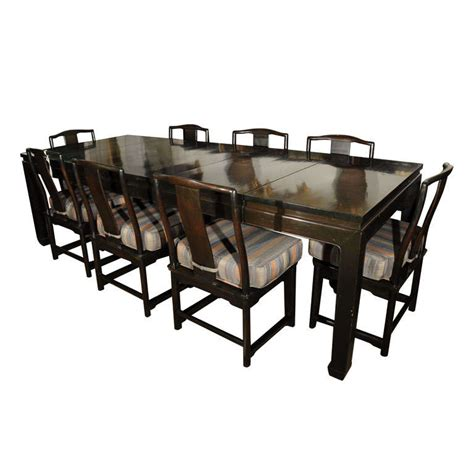 asian style dining table chinese style dining table and eight chairs