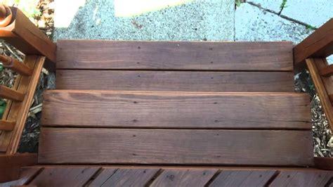 deck  benjamin moore arborcoat waterborne mahogany