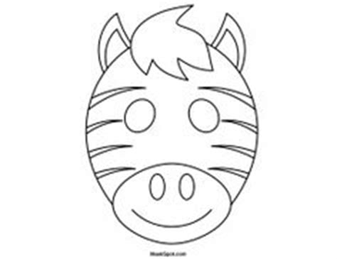 printable zebra mask printable giraffe mask to color giraffe s can t dance