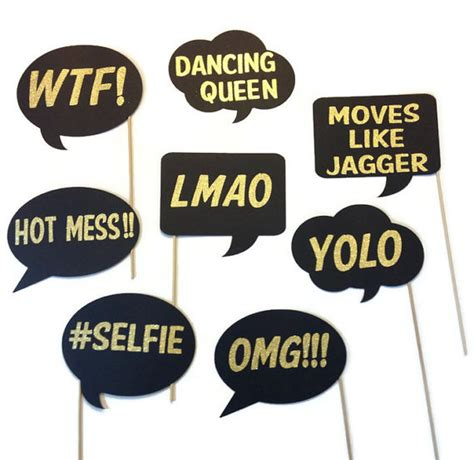 photo booth props printable word bubbles photo booth props word bubbles www imgkid com the
