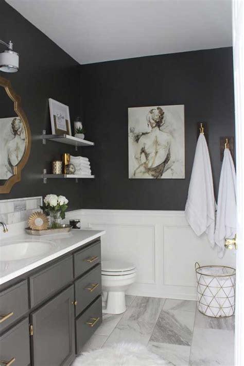 popular small spaces grey bathroom painting ideas with como reformar o banheiro gastando pouco