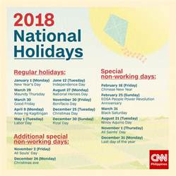 2018 Calendar Philippines With Holidays July 2017 Calendar With Holidays United States 2017