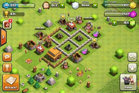 clash of clans layout strategy level 3 town hall level 3 clash of clans tips and cheats