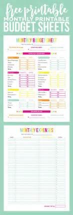 best budget sheets best 20 printable budget sheets ideas on pinterest