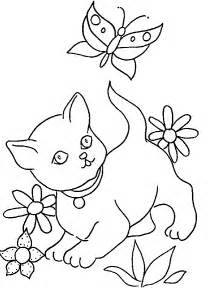 dessin chaton az coloriage