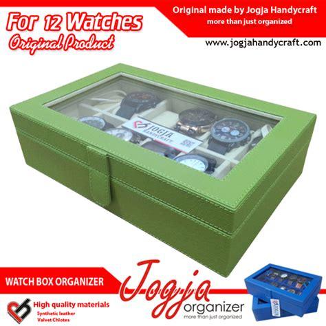 Kotak Jam Tangan Isi 6 Crem In Brown Box Jam Tangan Tempat Jam varian warna kotak tempat jam tangan isi 12 jogja