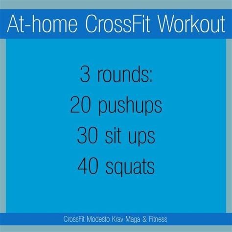 crossfit workout differents workouts