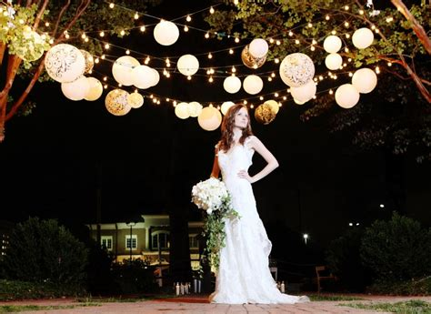 paper lanterns made wedding dreams come true