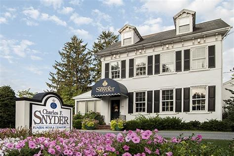 millersville pa funeral home charles snyder funeral home