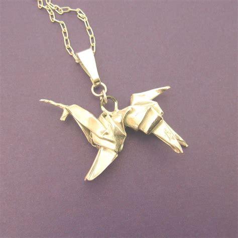 silver origami unicorn pendant blade runner allegro arts