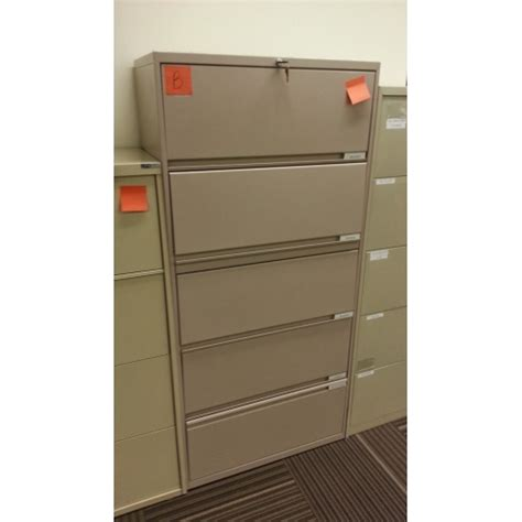 5 Drawer Lateral File Cabinets by 5 Drawer Taupe Flip Lateral File Cabinet 30x18x64 5