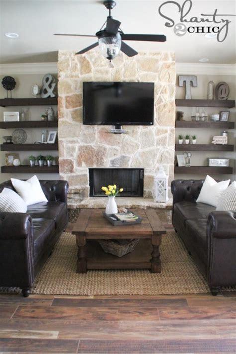 build a living room simple diy floating shelves tutorial decor ideas simply organized