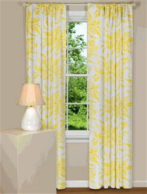 yellow curtain in white house yellow curtains on pinterest curtains window treatments