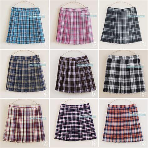 2015 new arrival sale skirts womens plaid skirt