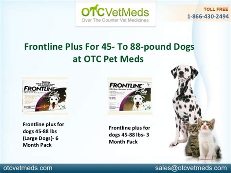 frontline plus for dogs 45 88 lbs frontline plus for dogs 45 88 pounds