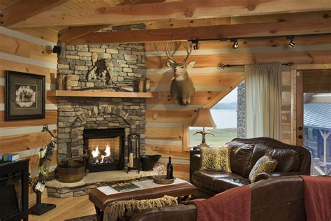 Log Home Decorating Photos Cabin Home Decor The Best Quality Home Design