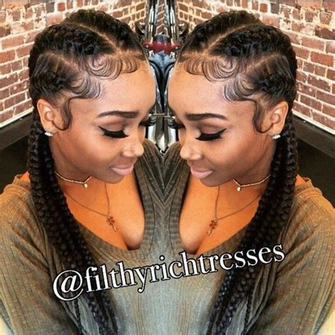 cornrow styles to protect edges protective style laid edges cornrows hair work 2