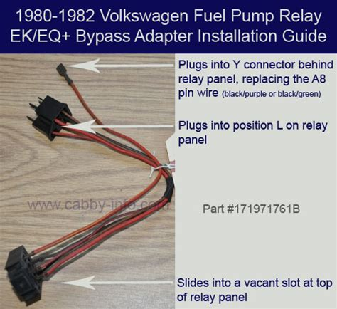 vw cabriolet relay location get free image about wiring