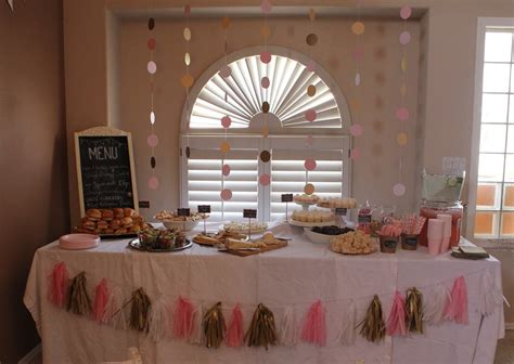 Pink And Gold Baby Shower by Goodie Goodies Pink Gold Baby Shower