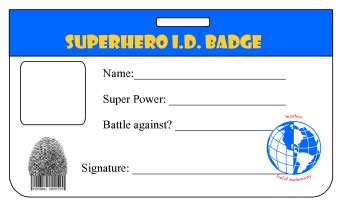 printable superhero id cards 26 images of printable superhero id card template paigin com