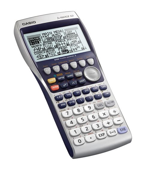 calculator online casio casio scientific graphic calculator fx 9860gii buy fx