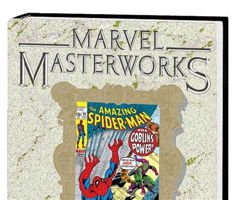 marvel masterworks the vol 11 books marvel masterworks the amazing spider vol 10