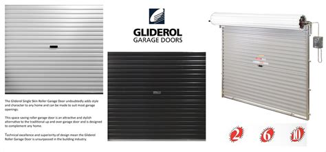 Gliderol Manual Single Skin Roller Garage Door Uk Made gliderol single skin roller garage door manual opening