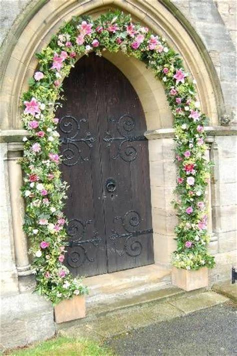 Wedding Arch Ireland by Flirty Fleurs Features Chapel Decorations Flowers