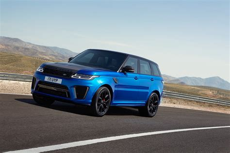 land rover range rover sport 2018 range rover sport svr facelift looks ready to rumble