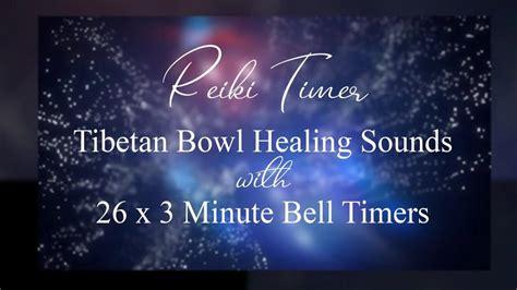 purity  minute timer  tibetan bowl healing sounds