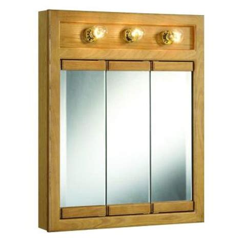 design house richland 24 in x 30 in 3 light tri view