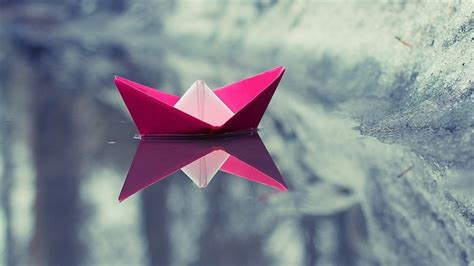 High Quality Origami Paper - paper boat origami high quality hd wallpaper view
