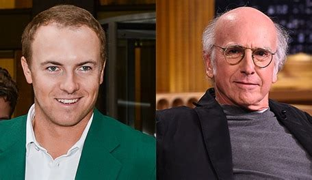 larry david jordan spieth     wildly bald golf channel